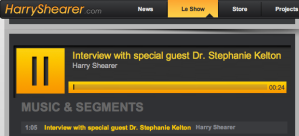 Kelton on Le Show with Harry Shearer