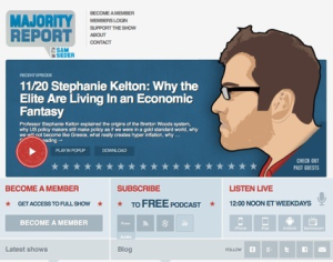 Kelton on the Majority Report